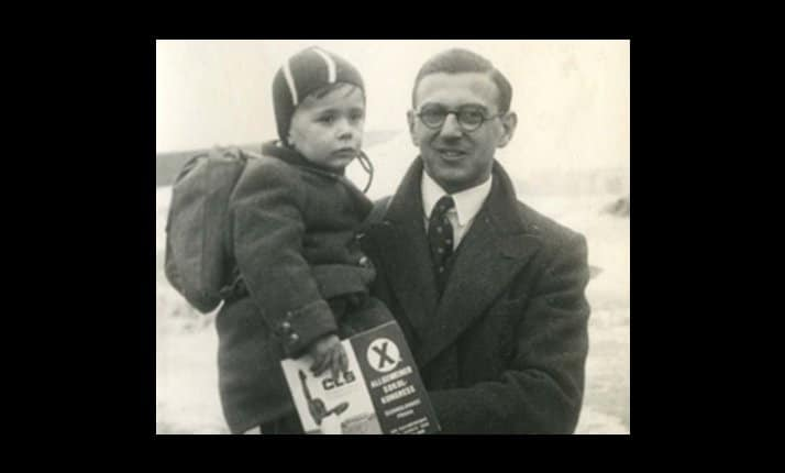 Nicholas Winton was responsible for saving the lives of 669 children. He never spoke of this episode in his life and certainly did not think of himself as a hero