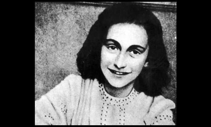 The face of Anne Frank is one of the most well known images of the Holocaust.