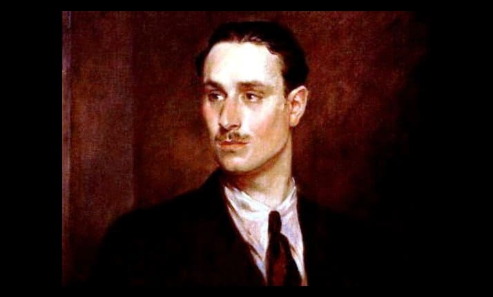 A painting of Sir Oswald Mosley, by Glyn Warren Philpot.