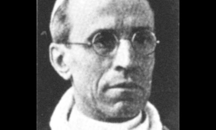Eugenio Pacelli who in 1939 was elected Pope Pius XI. The Catholic Church, as an organisation, did not protest against any of the anti-Jewish policies of the Nazi state.
