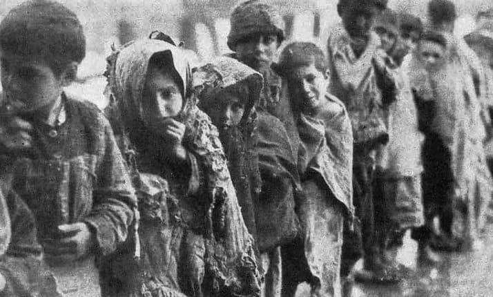 Children of the Armenian genocide, 1915