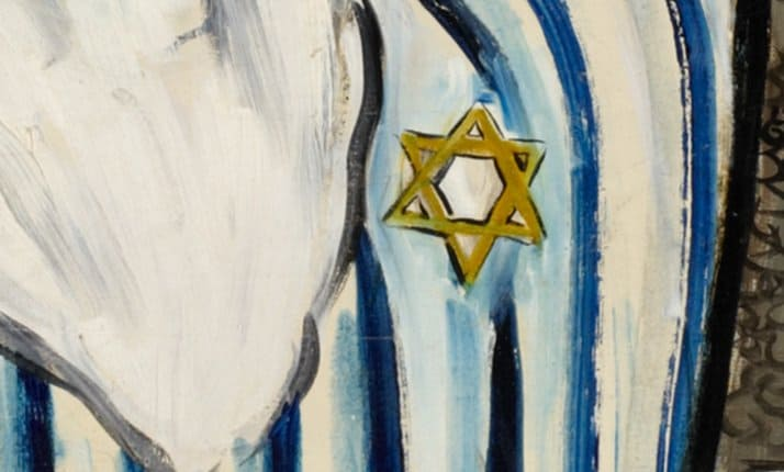 The yellow Star of David used by the Nazis to identify Jews across Nazi occupied Europe
