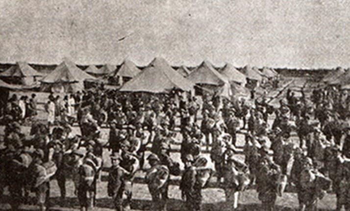 The evacuation of 816 Armenian orphans from Nahr El-Omar to Jerusalem, 1921
