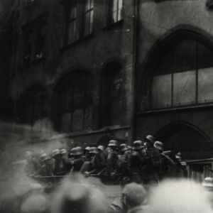 <p>On 9 November 1923, Hitler and the Nazi Party tried to overthrow the Weimar Republic. This became known as the Beer Hall Putsch.</p>