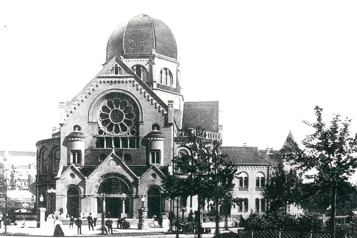Hamburg Synagoge