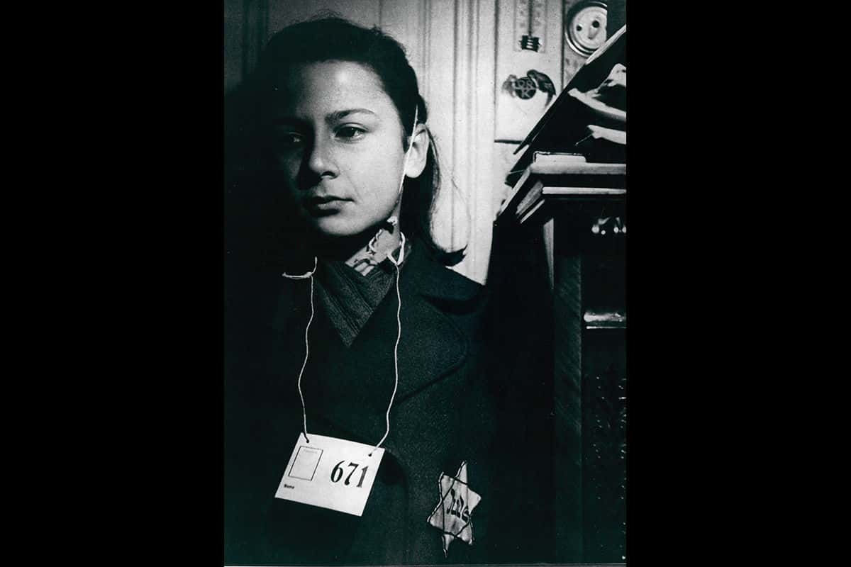 A young Jewish girl from Czechoslovakia wearing a Jüde star. Over 800 years after the Fourth Lateran Council decreed all Jews should wear a badge, the Nazis would re-implement this policy.