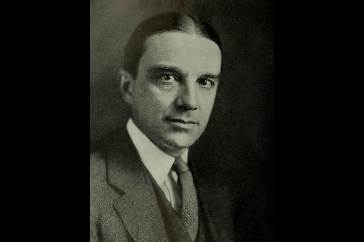A portrait of Owen D. Young. Young was a former member of the Dawes Plan Committee of 1924. He came up with the 'Young Plan' of 1929, which intended to be the final plan for Germany's reparations payments from the First World War.