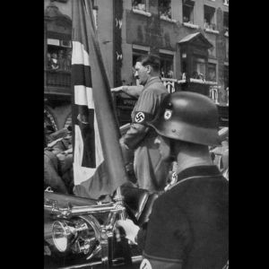 <p>On 24 February 1920, Hitler announced the new 25 point party programme for the German Worker's Party.</p>