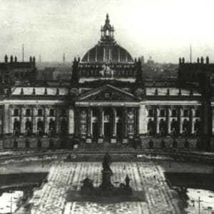 <p>On 24 March 1933, the Enabling Act was passed, allowing Hitler to make laws without the approval of the Reichstag.</p>