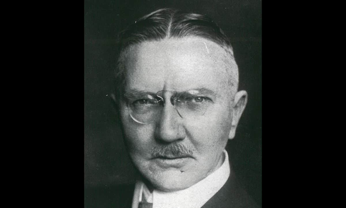 Hjalmar Schacht was appointed President of the Reichsbank on the 17 March 1933. Having previously brought Germany out of the hyperinflation crisis in 1923, Schacht was a well-respected banker. His appointment helped to calm many people's fears about the radical nature of the Nazi Party.