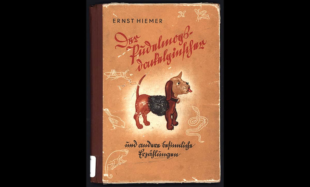 This book Der Pudelmopsdackelpinscher was published in 1940 by Ernst Hiemer. Hiemer was the author of several other antisemitic children's books from Nazi Germany, including the infamous Der Giftpilz (The Poisonous Mushroom). This book aimed to encourage racism by comparing Jews to other supposedly 'inferior' races.