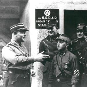 <p>On 30 June 1934, the Night of Long Knives, a purge of the Nazi leadership by Hitler, took place.</p>