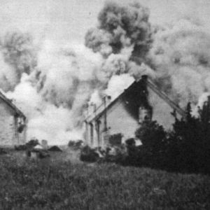 <p>On 9 June 1942, the Nazis liquidated the Czech village of Lidice in response to the assassination of Reinhard Heydrich in Prague.</p>