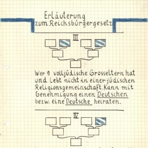 <p>On 15 September 1935, the Reichstag passed the Nuremburg Laws, institutionalizing the Nazi's racist theories. </p>