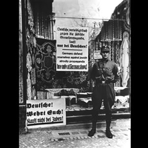 <p>On 1 April 1933, the Nazi Party led a nationwide boycott of Jewish-owned businesses across Germany.</p>