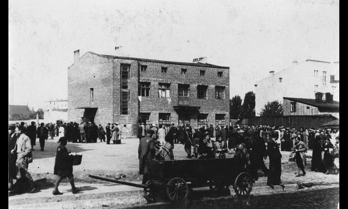 The Łódź Ghetto was the one of the first major ghettos to be established by the Nazis. The ghetto opened in February 1940, just five months after the invasion of Poland.