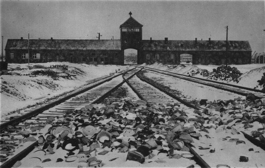 Auschwitz-Birkenau constructed