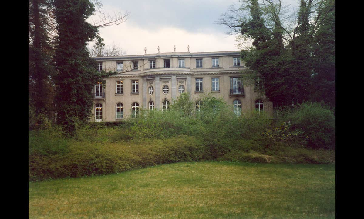 The Wannsee Conference Villa, where the Wannsee Conference took place on 20 January 1942. Courtesy of the David Allthorpe photo collection.