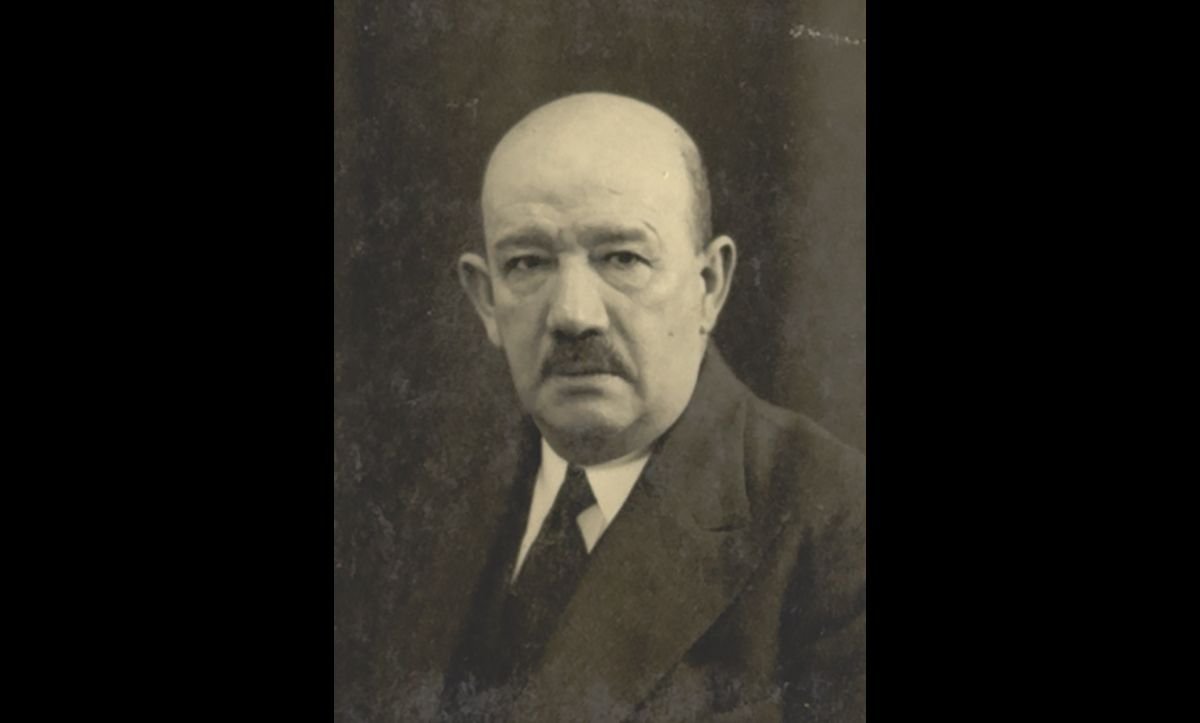 Alfred Wiener (1885-1964) founded the Jewish Central Information Office, which would later become The Wiener Holocaust Library, in 1933. This portrait was taken when Wiener was still based in Amsterdam, in 1936.