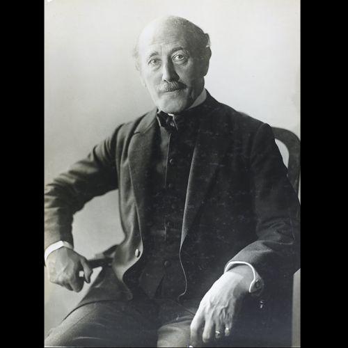 A portrait of the writer Alfred Kerr in Berlin c. 1929