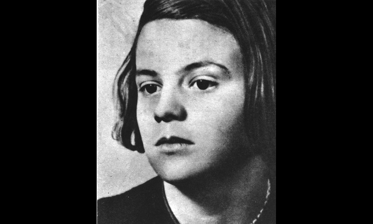 Sophie Scholl, the sister of Hans Scholl, was also a member of the White Rose resistance group. She was also arrested at the same time as her brother, and subsequently imprisoned and executed by the Nazis in 1943.