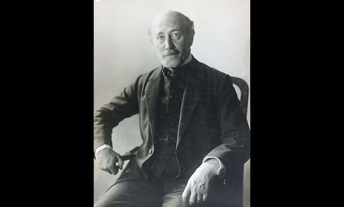 Alfred Kerr was Weimar Germany's leading theatre critic. He was also Jewish and a longstanding and active critic of the Nazis. This portrait was taken by Gerty Simon in Berlin in c.1929. In 1933, Alfred Kerr and his family fled Nazi persecution, and settled in England.