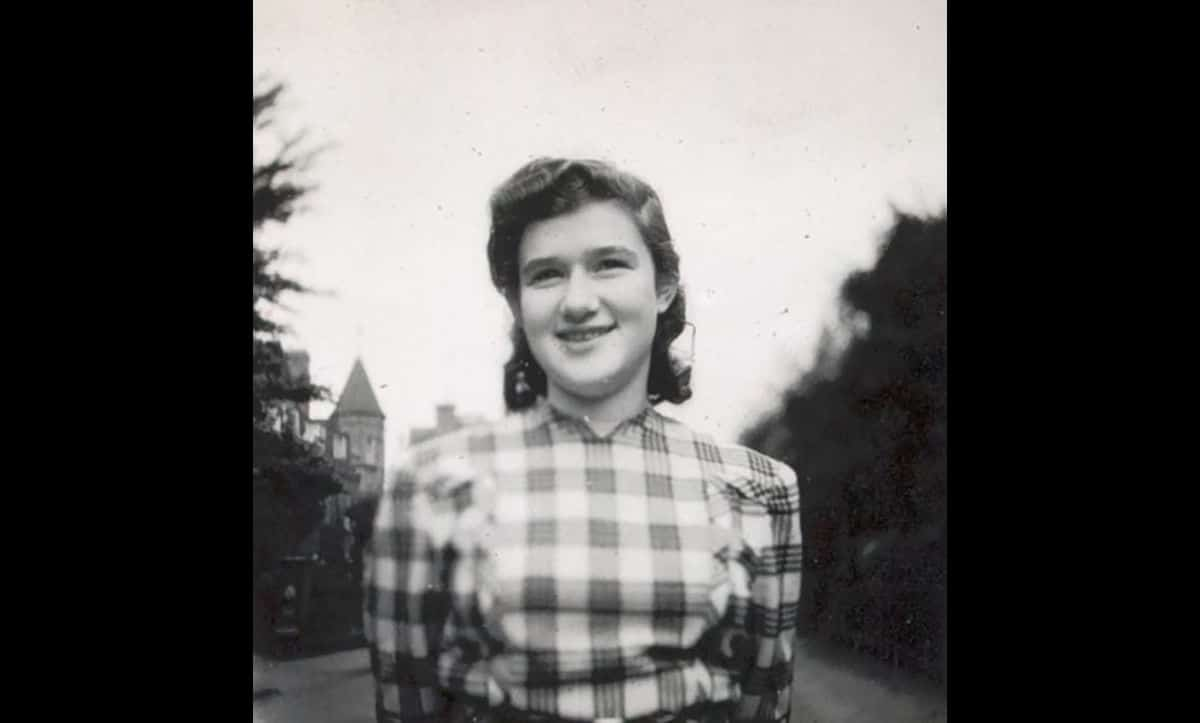 In 1957, Ludwik Finkelstein met his wife, Mirjam Wiener, pictured here in 1947. Mirjam was the daughter of Alfred Wiener, who founded The Wiener Holocaust Library. During the war Mirjam had been imprisoned by the Nazis in Westerbork and then Bergen-Belsen.