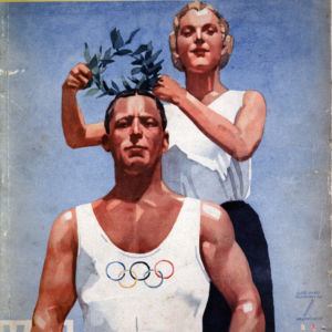 <p>On 1 August 1936, the Olmypic Games, hosted by Nazi Germany, began in Berlin.</p>