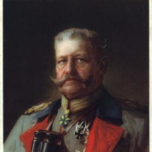 <p>On 2 August 1934, President von Hindenberg died. </p>