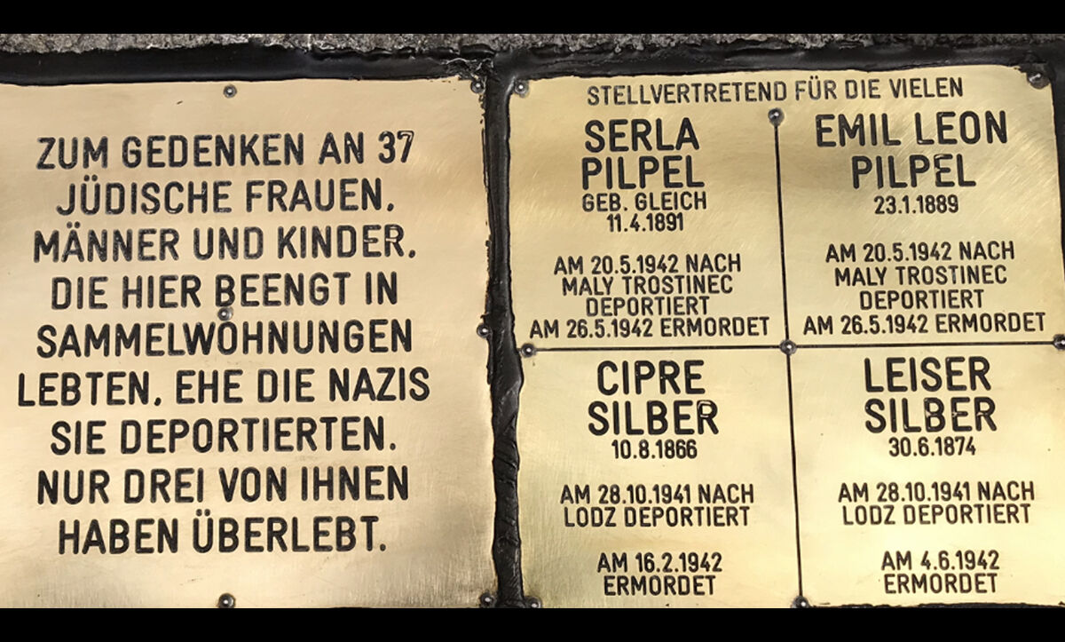 In June 2018, Emil and Serla's surviving family unveiled a Stolpersteine (a remembrance stone) outside their former home in Vienna.