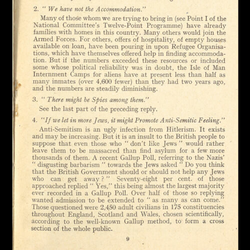 Extract from the 'Rescue The Perishing' pamphlet, published by Eleanor Rathbone in May 1943.