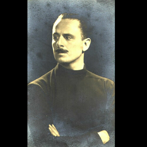Oswald Mosley, leader of the British Union of Fascists, c.1930s.
